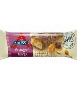 atkins ENDULGE Cacahuete y caramelo