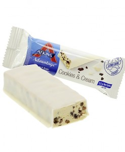 atkins cookies and cream