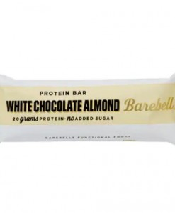 white almond bar