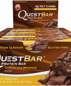 Caja barritas Quest Brownie