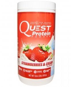 QUEST PROTEIN POWDER FRESA