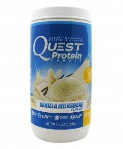 QUEST PROTEIN POWDER VAINILLA