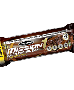 Muscletech Mission 1 Protein Bar Choc Brownie